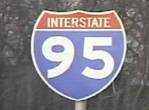 I-95 Gap Signage: The I-95 Western Route