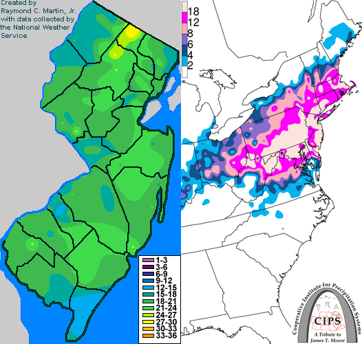Snow Storm Weather Map.Snow Storm February 16 17 2003 Storm Summary