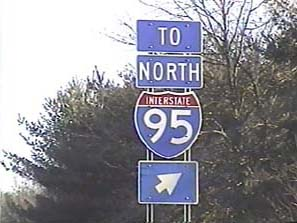 Image result for 95 north sign